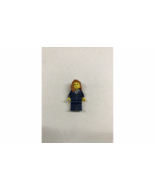Дівчина в синій формі