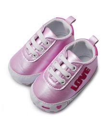 Детские пинетки Lapchu P0780G Рожевий 20 (12,5 см)