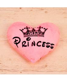 Подушка светящаяся Сердце Princess 070217-002