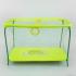 Манеж №9 ЛЮКС Вінні Пух - колір жовтий прямокутний, м'яке дно, велика сітка