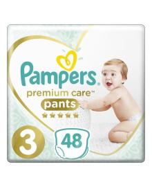 Трусики Pampers Premium Care 6-11 кг Размер 3 Midi 48 шт