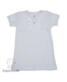 Рубаха Крестильная с коротким рукавом Sweet Mario МР-09-01-05