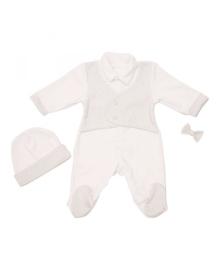 Комплект велюровый для крещения для мальчика Minikin 1713104
