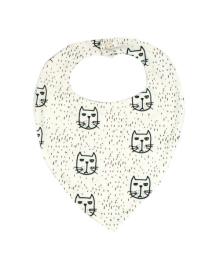 Слюнявчик Коты Мы любим котов MISHKA 1488 Размер  L