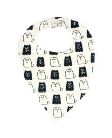 Слюнявчик молочный Monohrome MISHKA 1495 Размер  L