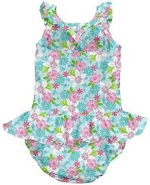 Детский купальник-подгузник I Play Light Aqua Paradise Flower 12мес 712159-6300-43