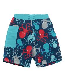 Шорты-подгузник для плавания I Play Navy Octopus 12мес 722169-6306-43