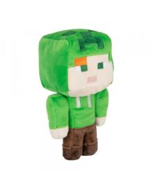 Плюшевая игрушка Алекс в костюме ползучего, Minecraft Happy Explorer Alex in Creeper Costume