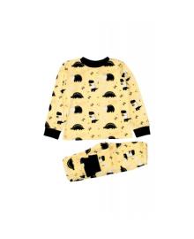 Пижама желтая Динозавры MISHKA 1502 Размер
