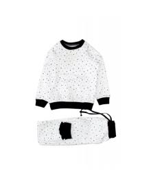 Пижама белая Little stars MISHKA 1504 Размер