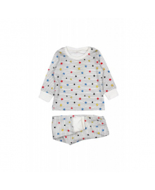 Пижама молочная Colorful stars MISHKA 1716 Размер