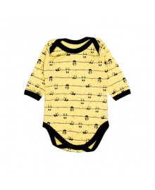 Бодик желтый Панда MISHKA 1753 Размер