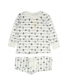 Пижама молочная Панда MISHKA 1793 Размер
