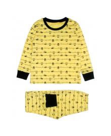Пижама желтая Панда MISHKA 1796 Размер