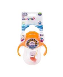 Поильник Munchkin Tip & Sip оранжевый, 207 мл
