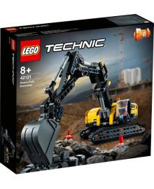 Конструктор LEGO Тяжелый экскаватор (42121), 5702016890976