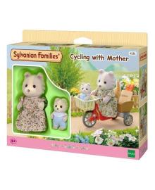 Набор Sylvanian Families Велосипедная прогулка с мамой 4281, 5054131042816