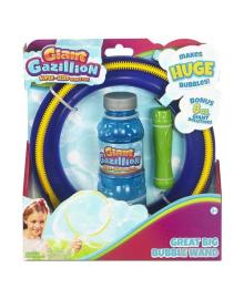Набор мыльных пузырей Gazillion Bubbles Гигант кольцо диаметр 20 см