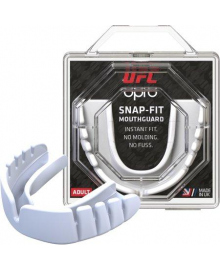 Капа OPRO Junior Snap-Fit UFC Hologram White (art.002263002)