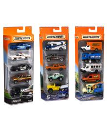 Подарочный набор автомобилей Matchbox (5 шт.) (в асс.) Mattel C1817