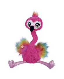 Мягкая интерактивная игрушка Pets&Robo Alive Веселый Фламинго