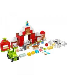 Конструктор Lego Duplo Хлев, Трактор И Уход За Животными (10952)