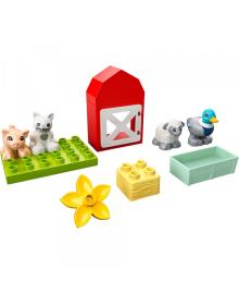 Конструктор Lego Duplo Уход За Животными На Ферме (10949)