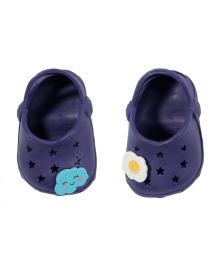 Обувь для куклы BABY BORN - ПРАЗДНИЧНЫЕ САНДАЛИИ С ЗНАЧКАМИ (на 43 сm, синие)