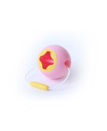 Ведерко для игры с песком сфера Mini BALLO розовый Quut