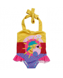 Одежда для куклы BABY BORN  - ПРАЗДНИЧНЫЙ КУПАЛЬНИК S2 (на 43 cm, c уточкой)