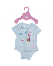 Одежда для куклы BABY BORN - БОДИ S2 (голубое)