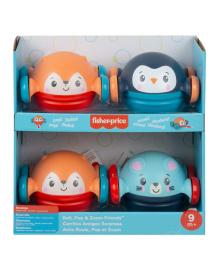 Развивающая игрушка Fisher-Price Животные на колесах (в ассорт)
