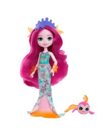 Кукла Enchantimals Royals Русалка Маура 15 см GYJ02