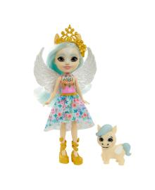 Кукла Enchantimals Royals Пегас Паолина 15 см GYJ03