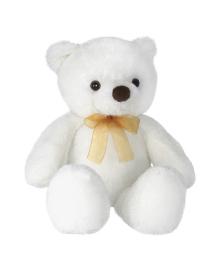 Мягкая игрушка Aurora Медведь белый, 46 см
