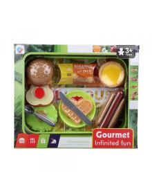 КРАЇНА ІГРАШОК Игрушечный набор арт. 2020-5A, супермаркет, 9 предметов, в коробке 15,5 * 30 * 6 см 2020-5A