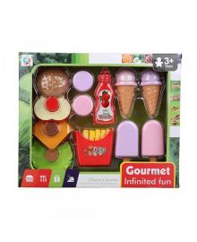 КРАЇНА ІГРАШОК Игрушечный набор арт. 2020-9A, супермаркет, 12 предметов, в коробке 15,5 * 30 * 6 см 2020-9A