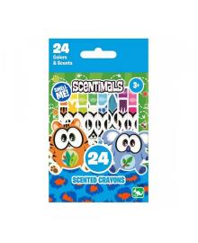 SCENTIMALS: 24 ароматизированные восковые карандаши
