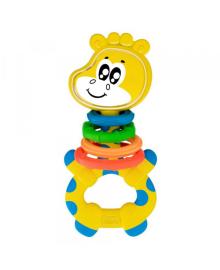 """Игрушка-погремушка """"Жираф"""" CHICCO 10053.00, 8058664118861"""