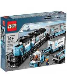 Конструктор LEGO Грузовой поезд Маерск (10219)