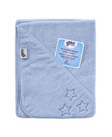 Полотенце махровое с капюшоном XKKO Organic Blue Stars 90х90 см