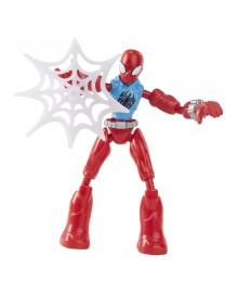 Фигурка Spider-Man Bend Flex Алый Паук 15 см