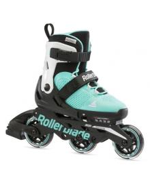 Ролики детские Rollerblade Microblade Free 3WD G Agua White 2021 (Бело-бирюзовый, 33-36,5)