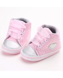 Детские пинетки Lapchu P00716G Рожевий 19 (11,5 см)
