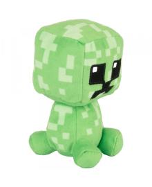 Плюшевая игрушка Маленький Пиксель Ползун, Minecraft Mini Crafter Pixel Creeper
