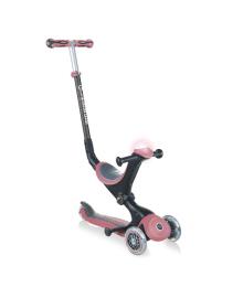 Самокат Globber Go Up Deluxe Play розовый до 50 кг