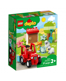 LEGO® DUPLO® Сельскохозяйственный трактор и уход за животными 10950