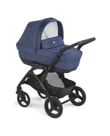 Универсальная коляска 3 в 1 Cam Dinamico Smart Dark blue melange