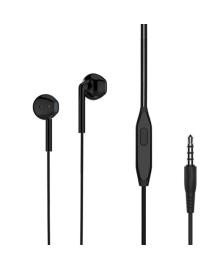 Проводная гарнитура LANGSDOM MJ-31 Black с микрофоном jack 3.5 мм 5223-16257