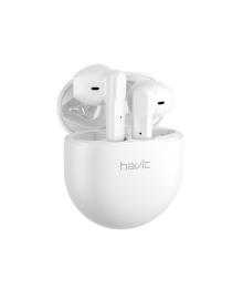 Беспроводная Bluetooth 5.0 гарнитура Havit TW916 White наушники для спорта стерео 7025-22324